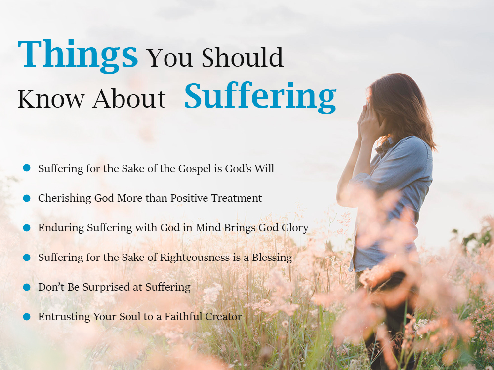 Things you should know about suffering